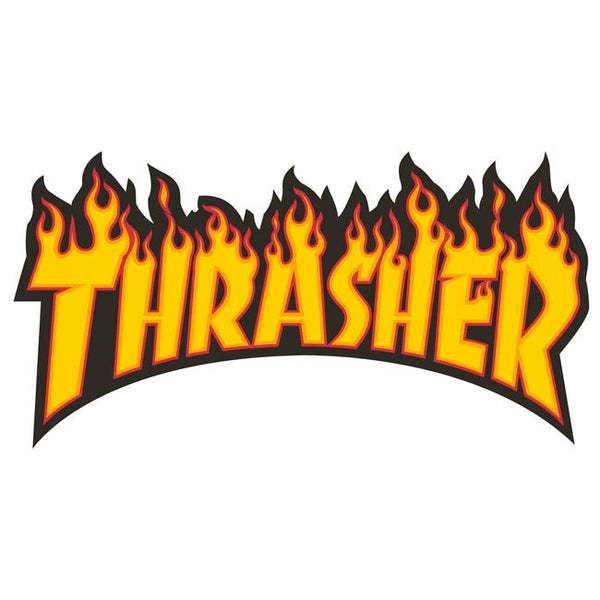 THRASHER Flame Sticker