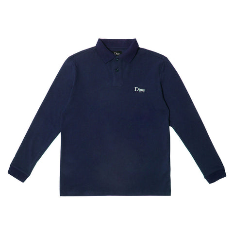 Dime Long Sleeve Polo Shirt