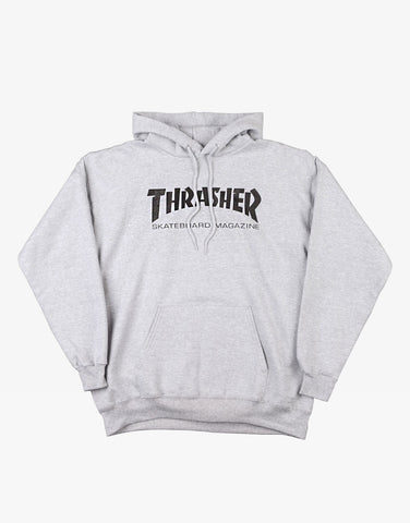 Thrasher Mag Logo Hoody Light Steel