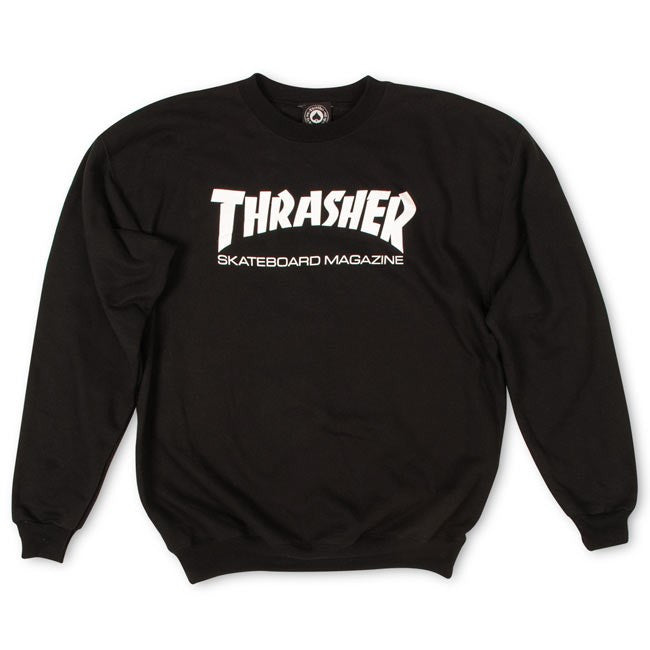 Thrasher Mag Crewneck - Black