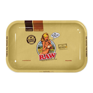RAW BIKINI GIRL METAL TRAY