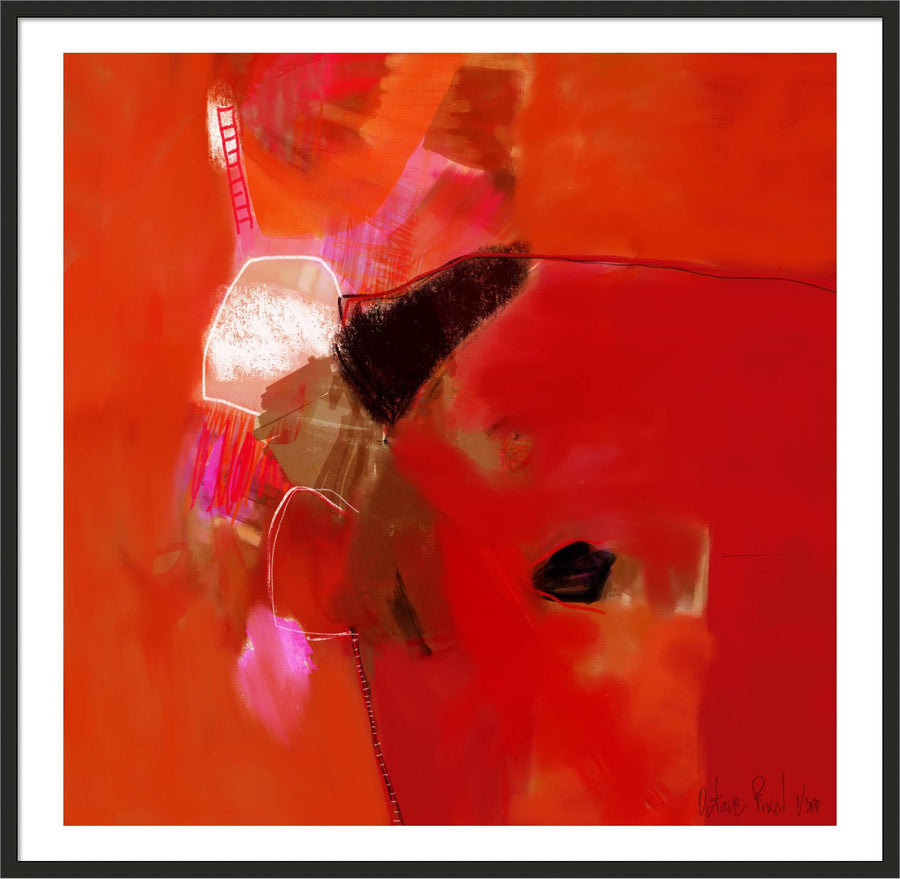 Apprehension - Art prints - Artwork  artiste peintre Octave Pixel  galerie TACT Art abstrait & contemporain