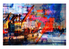 Fire colors - Art prints - Artwork  artiste Marc Doulat  galerie TACT :// Art abstrait & contemporain