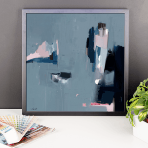 Framed photo paper poster -   galerie TACT ://  galerie TACT Art abstrait & contemporain