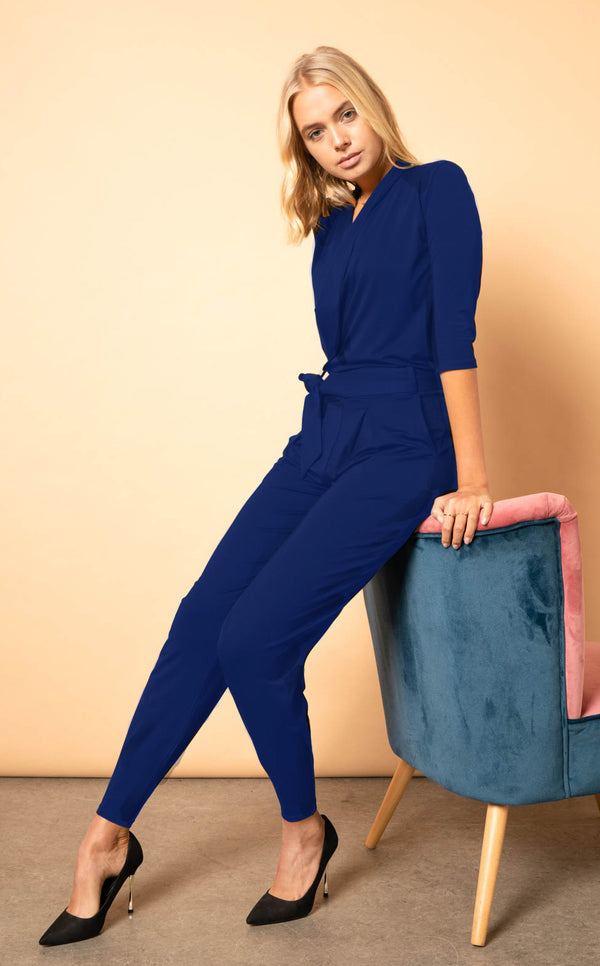 The Paul Jumpsuit - Navy Blue