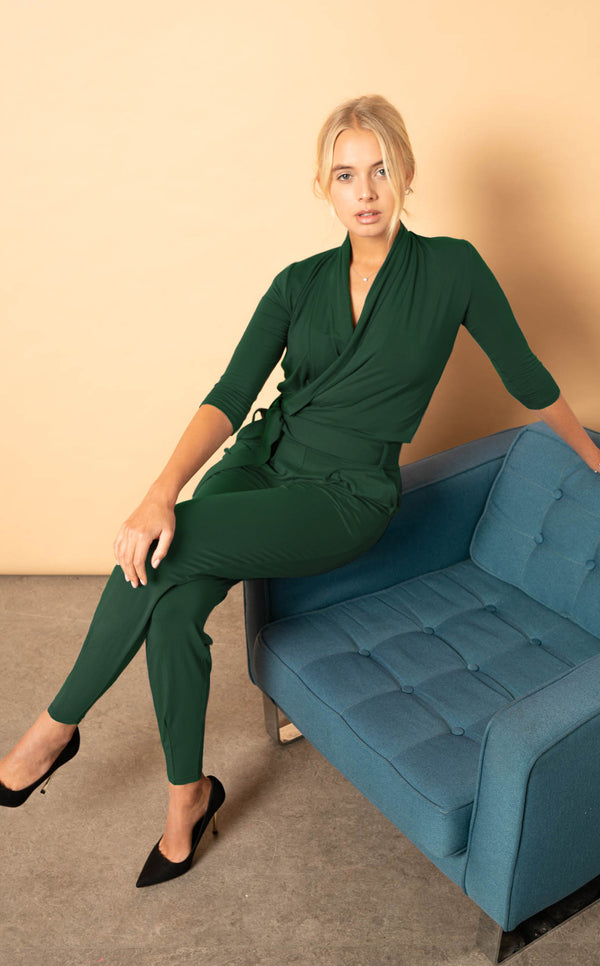 The Paul Jumpsuit - Hunter Green