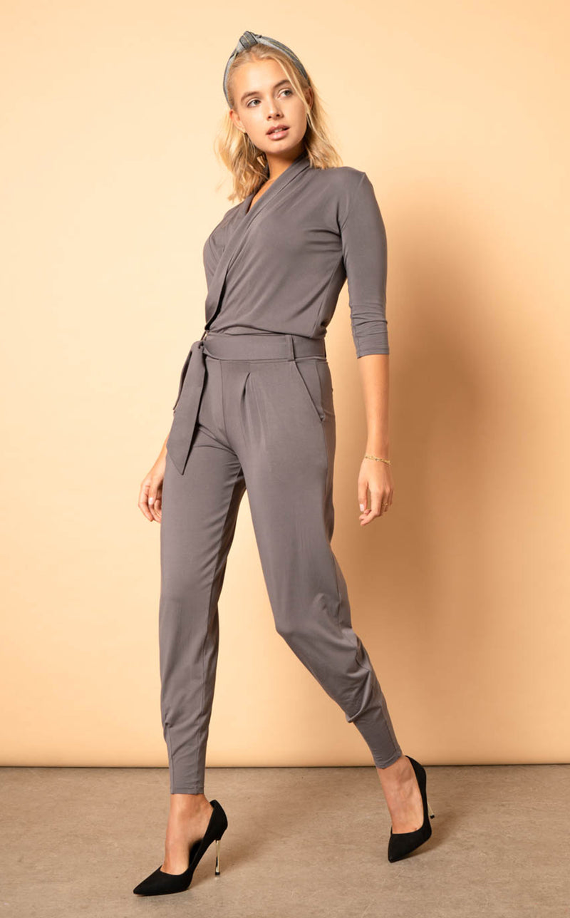 The Paul Jumpsuit - Khaki