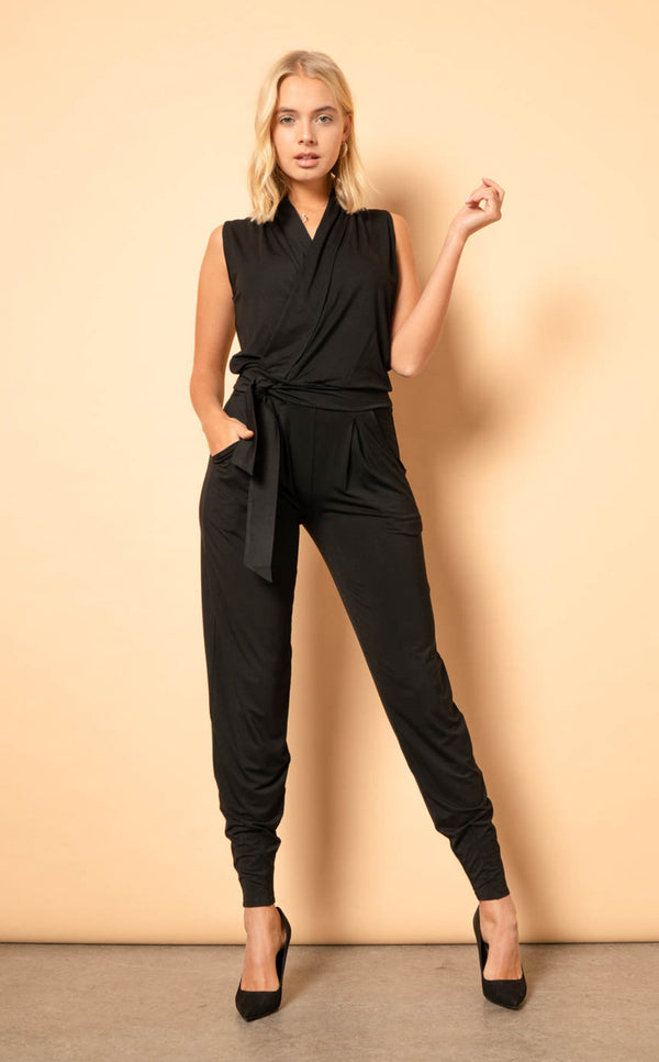 The Stella Jumpsuit - Pine
