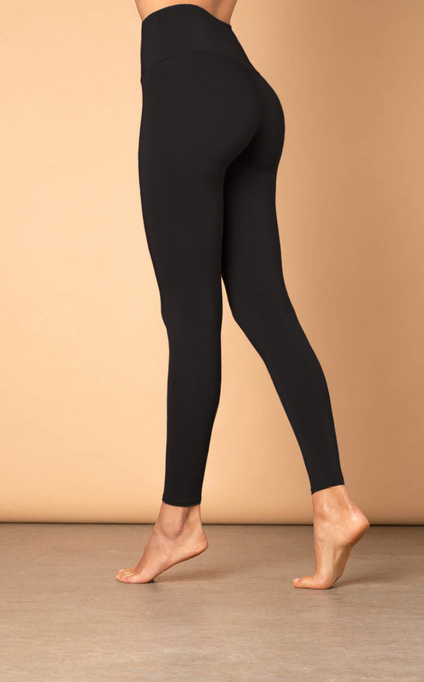 The High Waisted Leggings - Dark Taupe