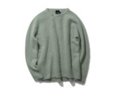FUR CASHMERE CREWNECK SWEATER
