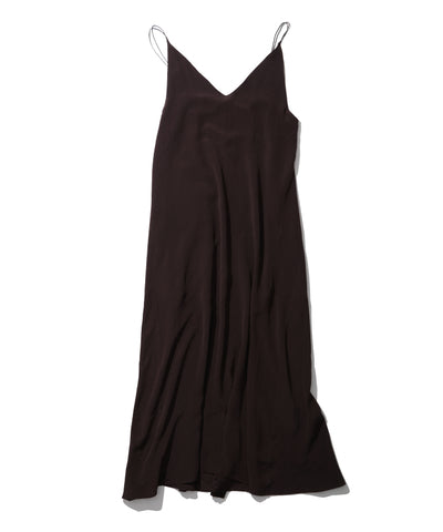 SILK DECHIN CAMISOLE MAXI DRESS