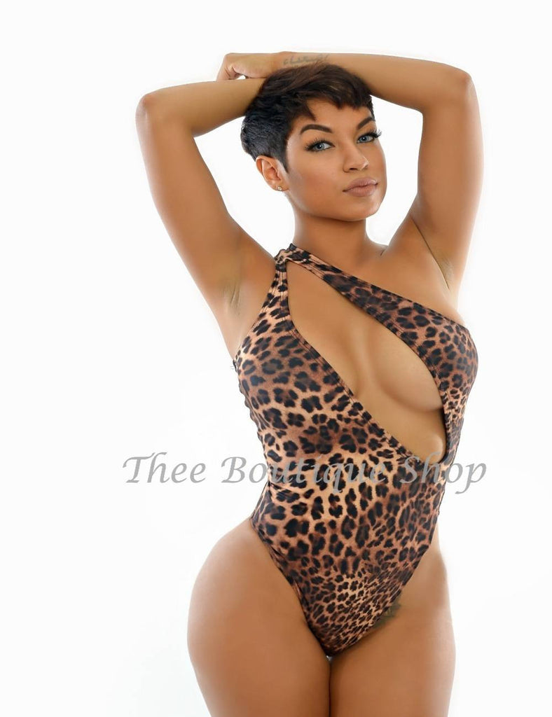 The Bali Summer Swimsuit (Leopard) - Thee Boutique Shop