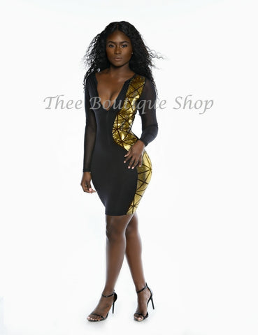 The Harlequin Dazzler Illusions Dress