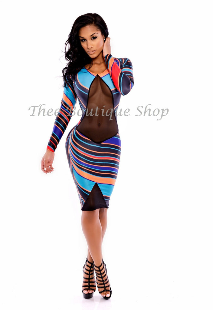 The Exotica Illusions Afrique Dress