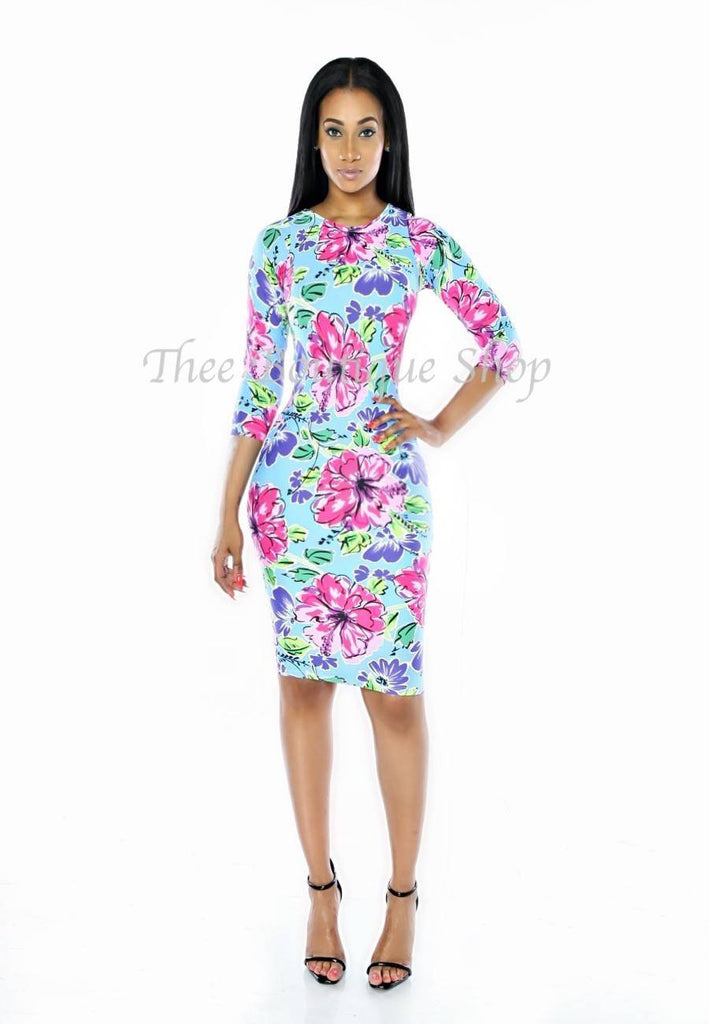 The Spring Floral Dress
