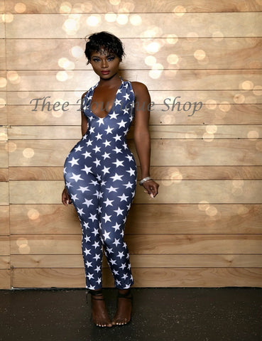The Indulgent Starship Jumpsuit (Navy)