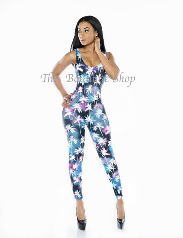 The Freeport Tropical Jumpsuit