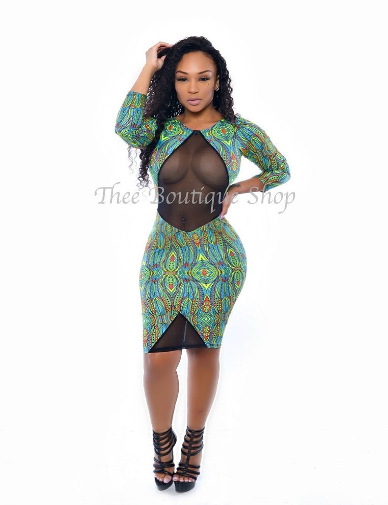 The Exotica Illusions Dress (Fresca)