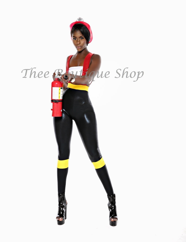 The Luxe Firefighter Suspender Costume
