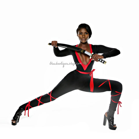 The Luxe Ninja Jumpsuit Costume