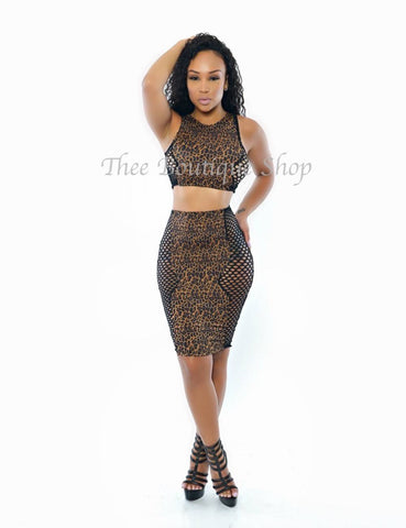 The Ivory Coast Set (Leopard)