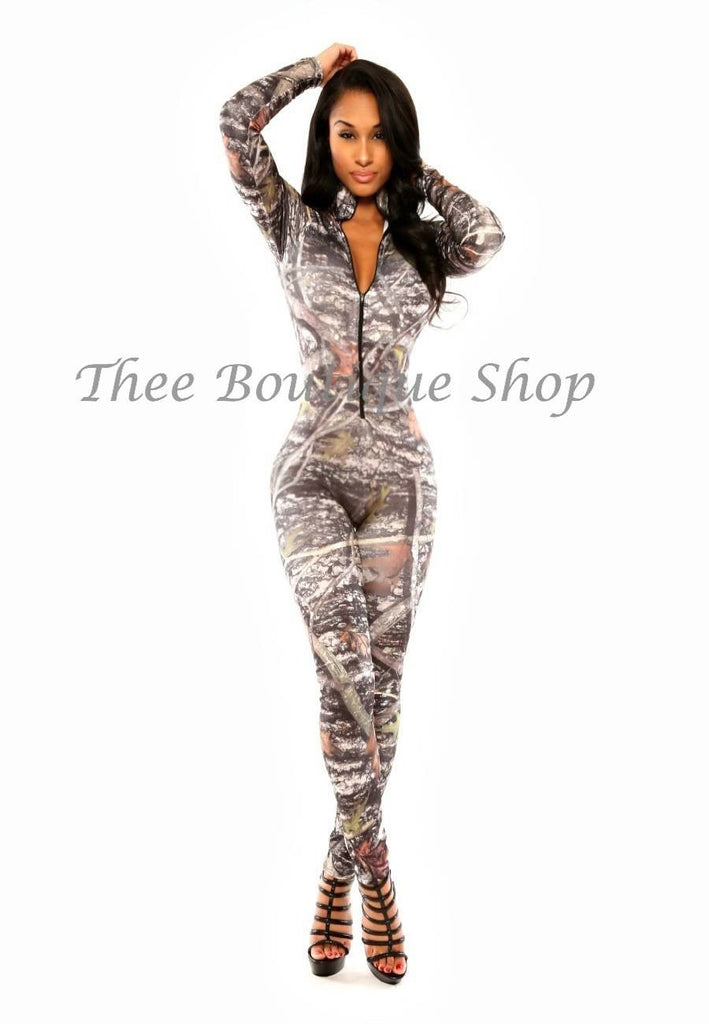 The Hunters Camo Jumpsuit