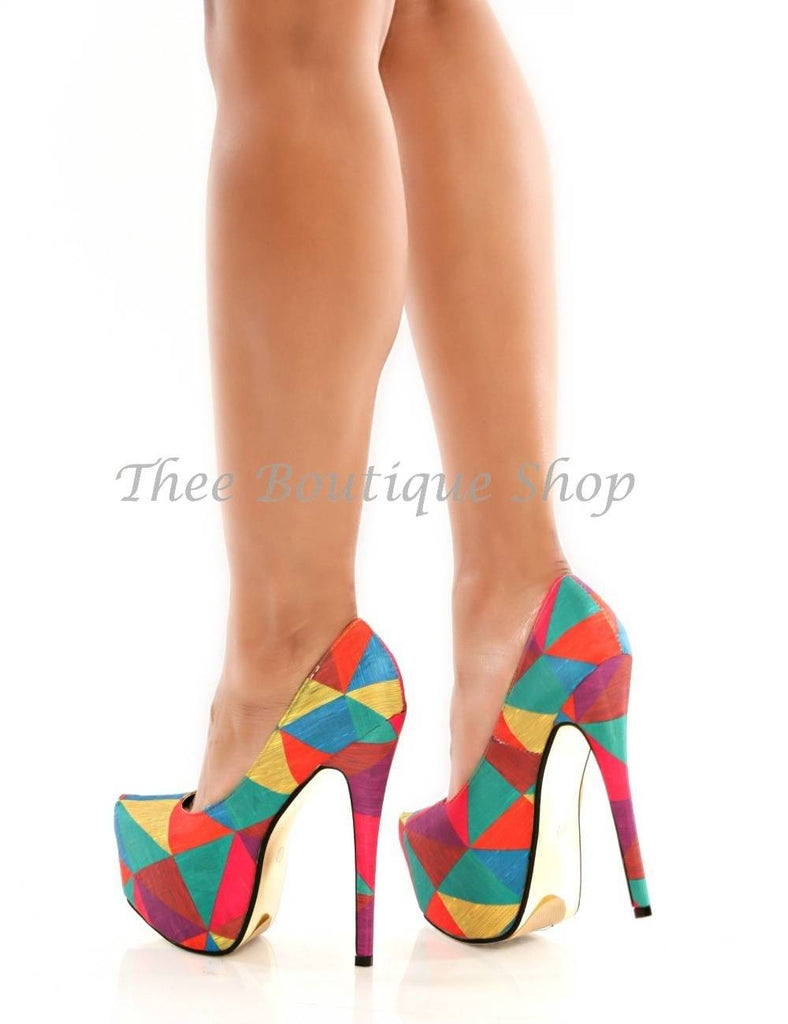 The Kimchi-Color Block Pump