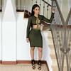The Sports Net Lace Up Set (Olive)