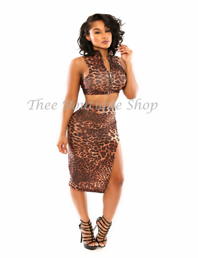 The Sultry Leopard Set
