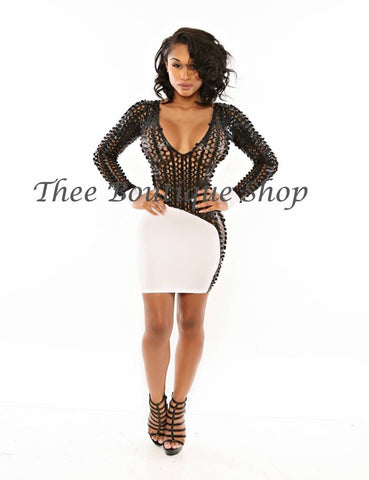 The Luna Xtreme Dress (White)