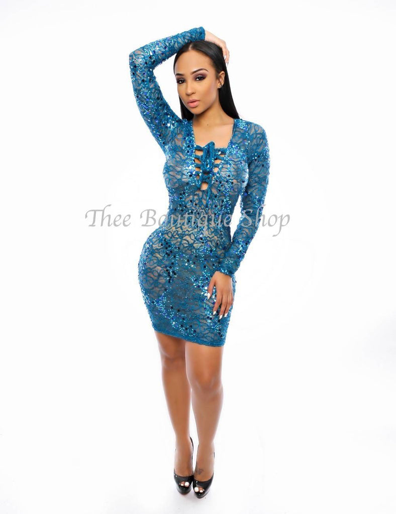 The New Years Lace Dress Burlesque