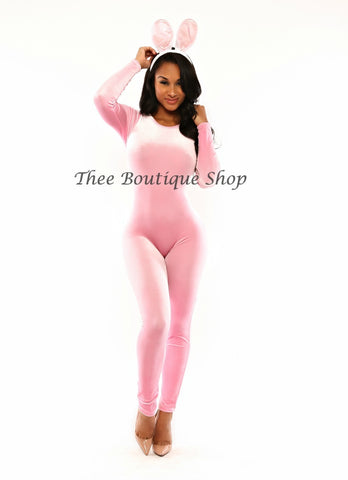 The Pink Bunny Catsuit