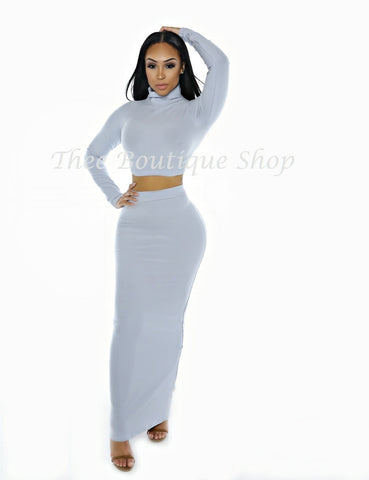 The Neptune Classic Maxi Set (Powder Blue)