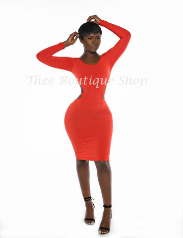 The Divine Escape Dress (Rouge')