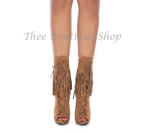 The Selita-Fringe Booties