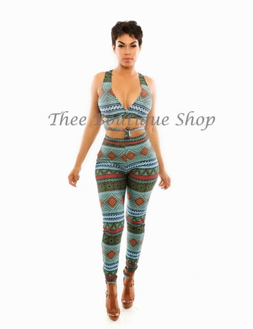 The Senegalese Tribal Wrap Set
