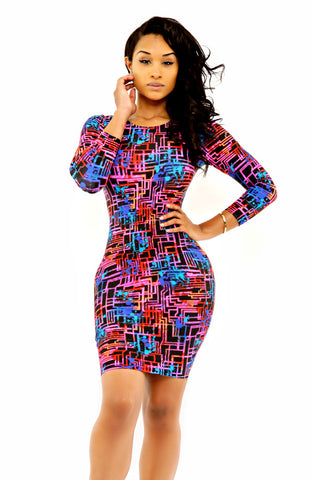 The Lola Maze Dress