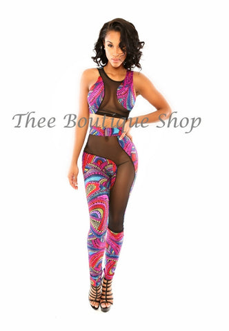 The Kanvas Illusions Leggings Set (Tobago)
