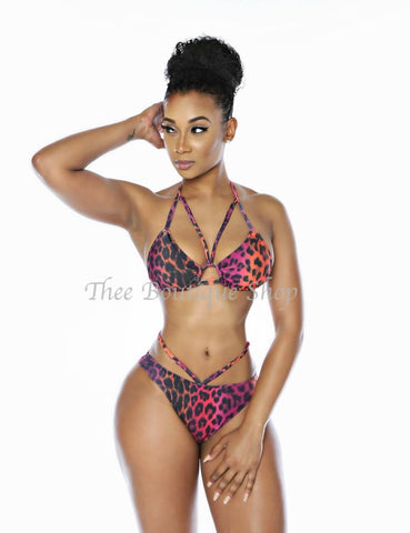 The Venus Flyy Bikini Swimsuit (Pacific Leopard)