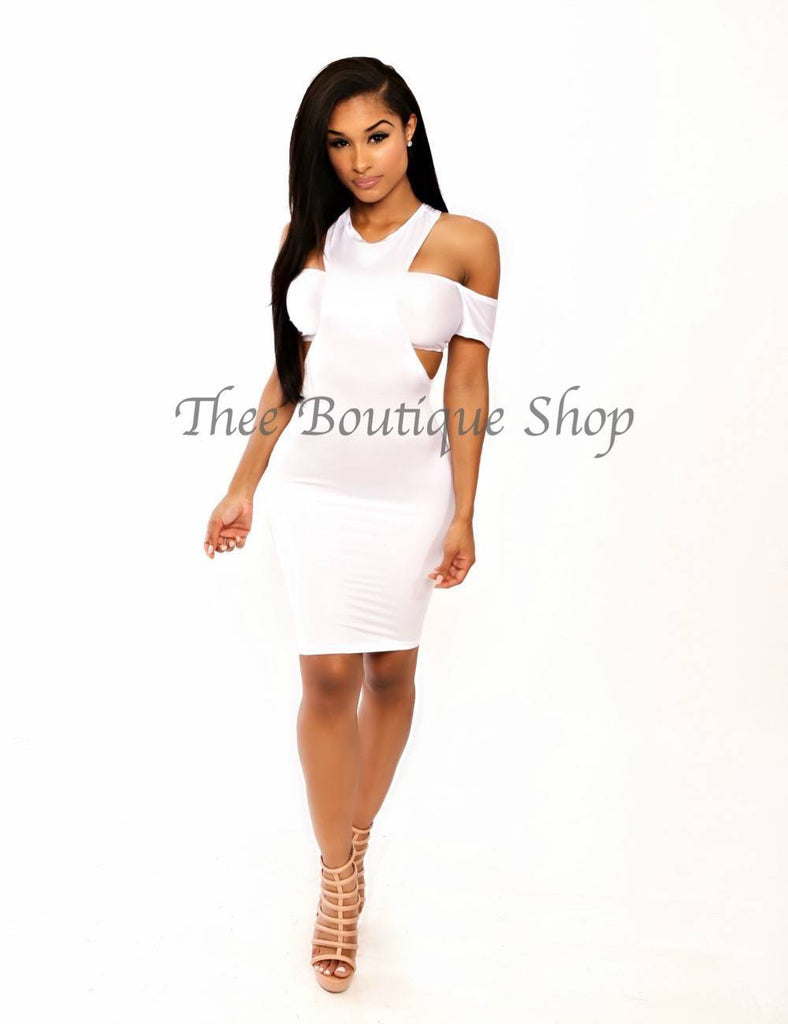 The Yoshi Summer Dress (White)