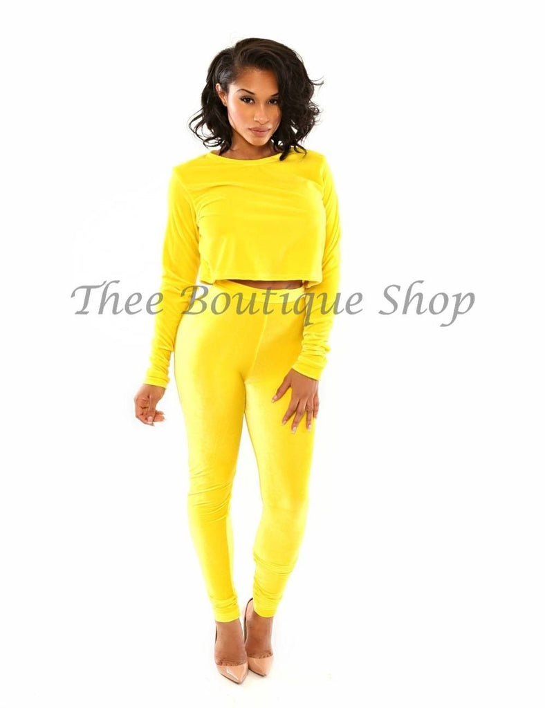 The Classic Winter Crop Set (Jaune')