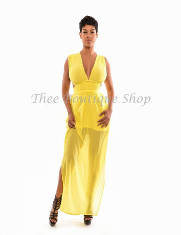 The Versatile Summer Maxi Dress (Canary)