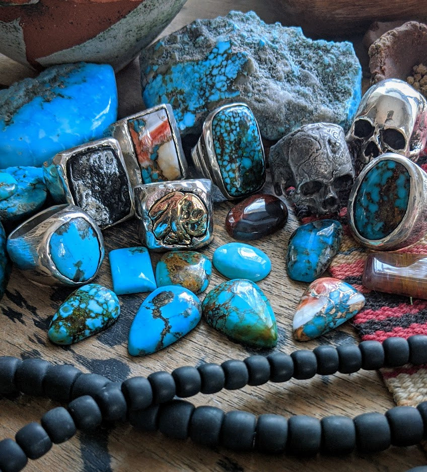 Arizona Turquoise and southwest jewelry by John Mettier