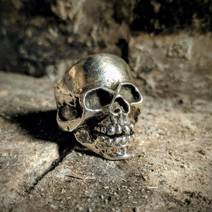 Full Face Skull Ring