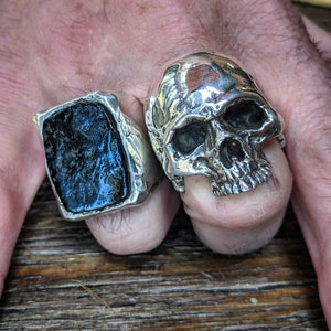 Heavy Metal Skull Ring