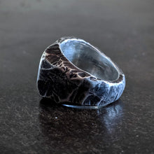 Load image into Gallery viewer, Short Hand Forged Signet Ring