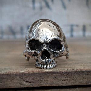 Sinister Heavy Metal Skull Ring