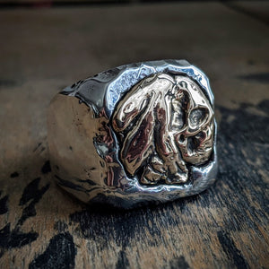 Indian Head Skull Signet