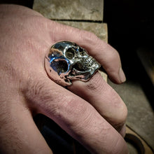 Load image into Gallery viewer, Fully Loaded Full Face Heavy Metal Skull Ring