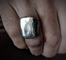 Load image into Gallery viewer, Tall Hand Forged Signet